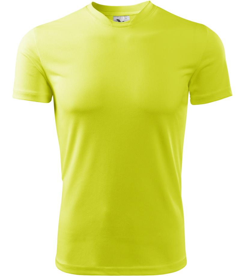 ADLER Fantasy Dětské triko 14790 neon yellow 146