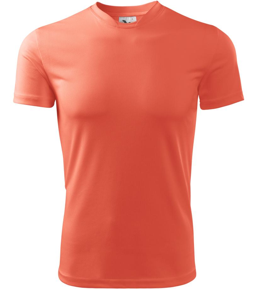 ADLER Fantasy Dětské triko 14791 neon orange 122