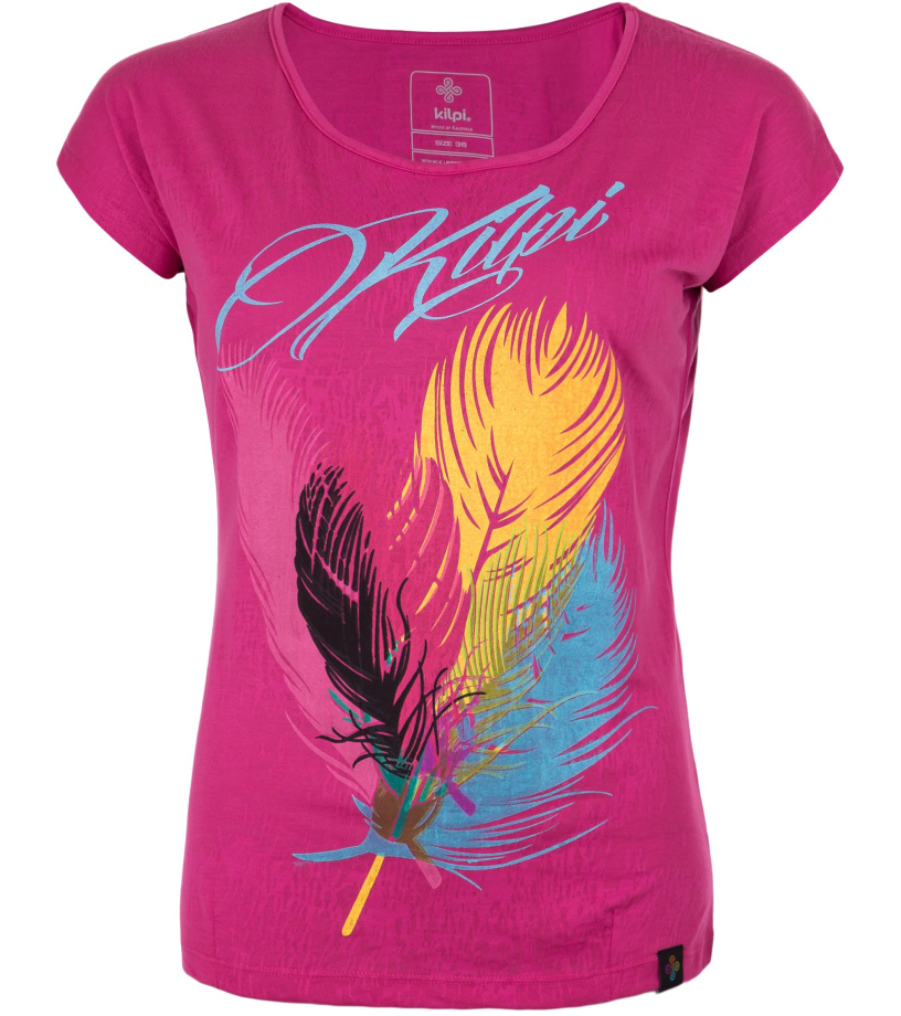 KILPI Dámské triko PLUMA-W GL0150KIPNK Růžová 44
