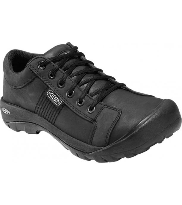 KEEN Austin M Pánské kožené boty C121300001506 blck 9(43) 8e08113cca