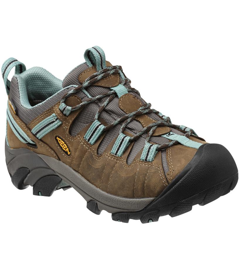 KEEN Targhee II WP W Dámské trekové boty KEN1203060303 black olive/mineral blue 5,5(38,5)