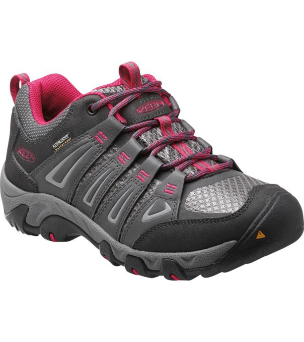 KEEN OAKRIDGE WP W Dámské outdoorové boty KEN1203114001 magnet/rose 8(41)