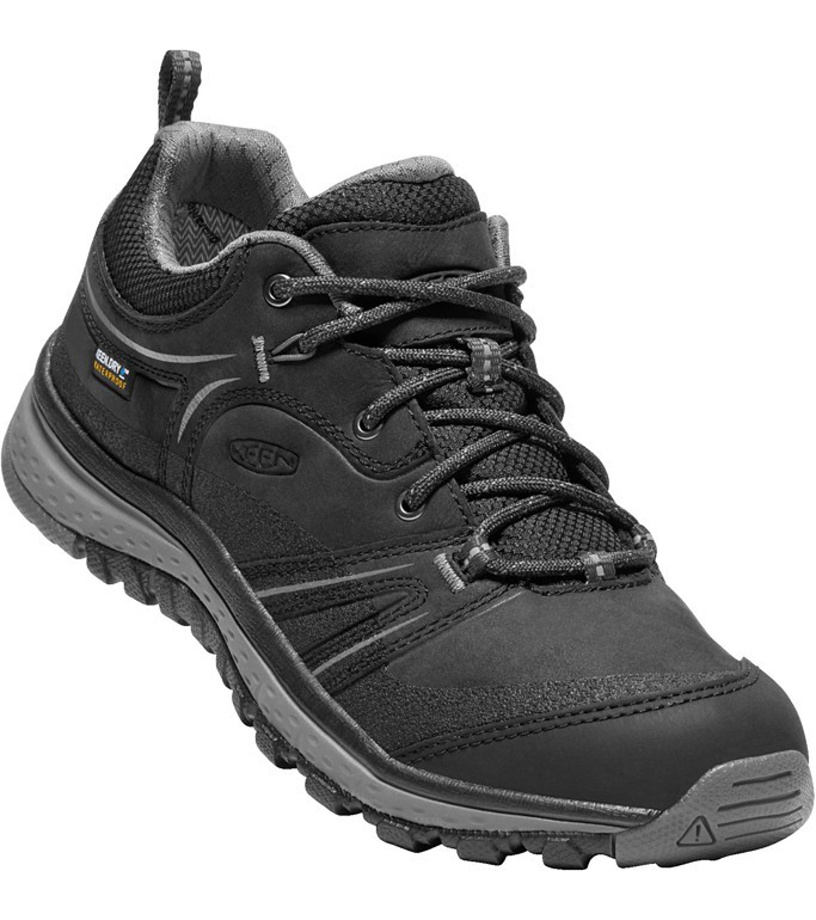 KEEN TERRADORA LEATHER WP W Dámská treková obuv KEN1203133601 black/steel grey 7(40)