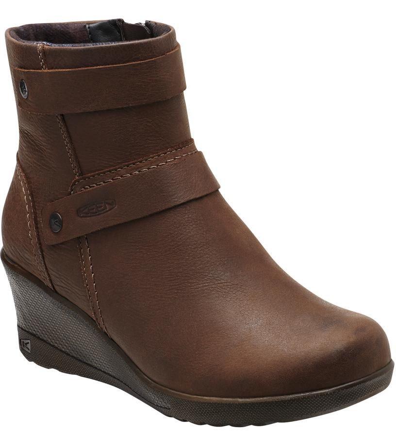 KEEN KEEN KATE MID W Dámské boty KEN1213092503 cocoa brown 6(39)