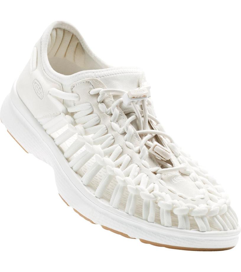 KEEN UNEEK O2 W Dámské sandály KEN1213129908 white/harvest gold 6(39)