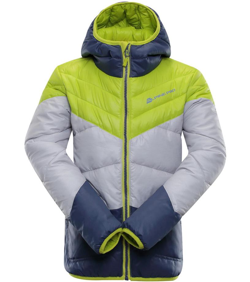 ALPINE PRO SOPHIO 2 Dětská zimní bunda KJCM104564 Sulphur spring
