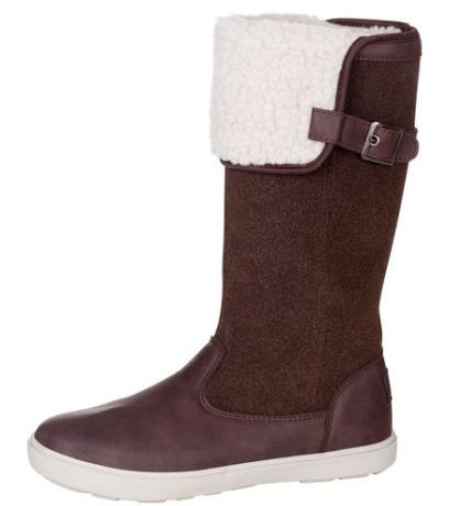 ALPINE PRO NOELA Dámská zimní obuv LBTM183996 hnědá