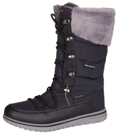 ALPINE PRO LASSA Dámská zimní obuv LBTM185990 černá