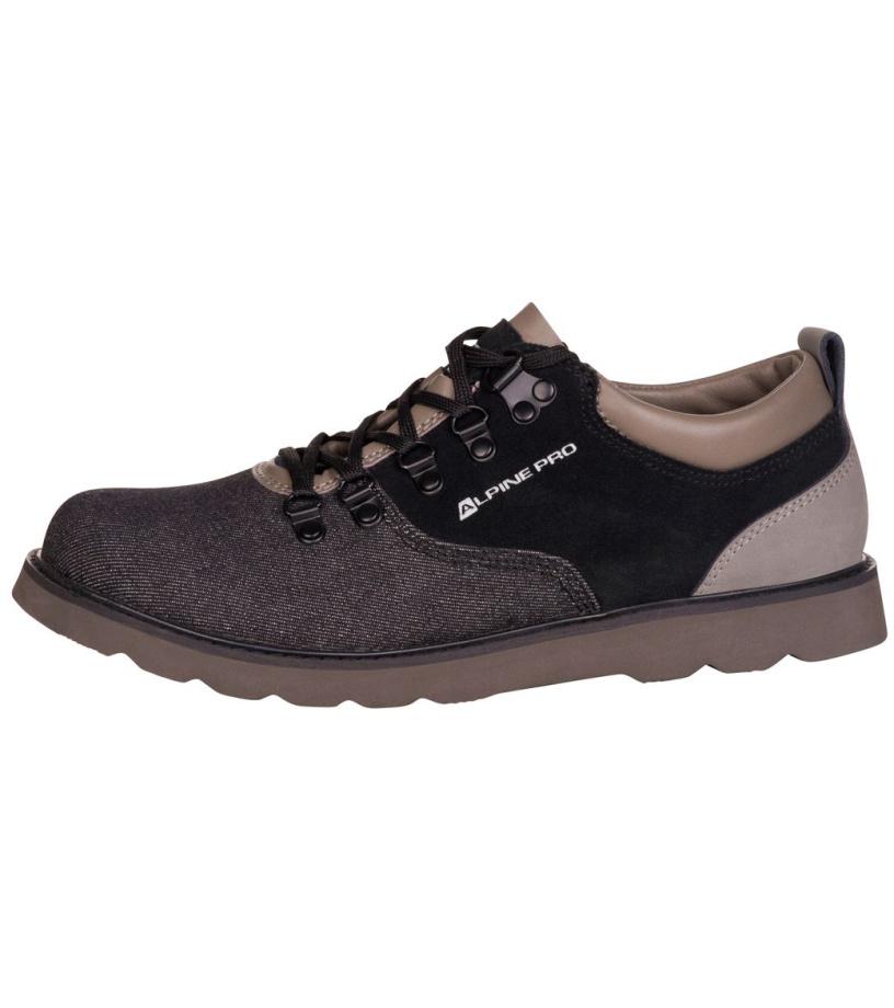 ALPINE PRO HAMAL Pánská městská obuv MBTM151990 černá