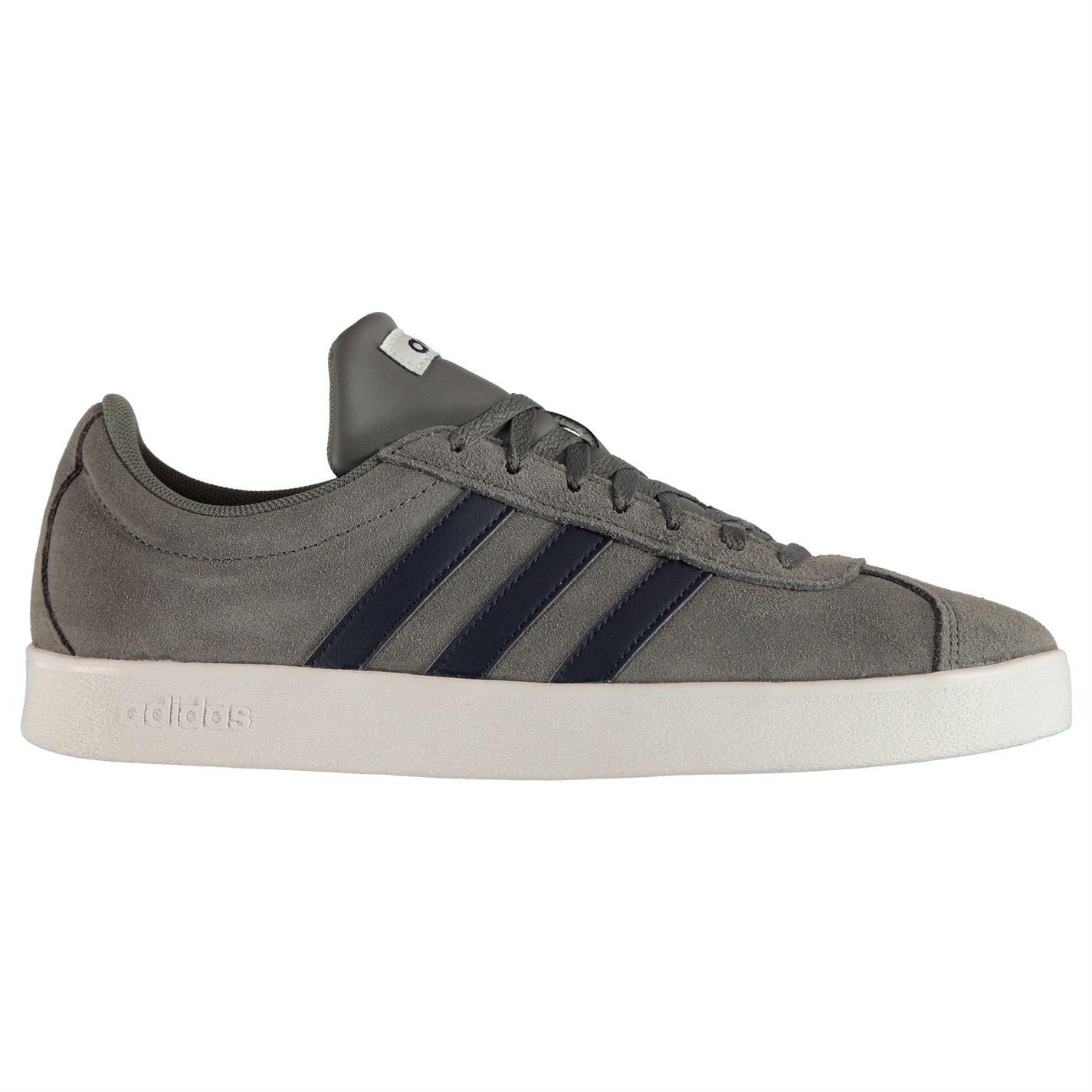 Adidas VL Court 2 Suede Pánská obuv 16303802 9 (43.3)
