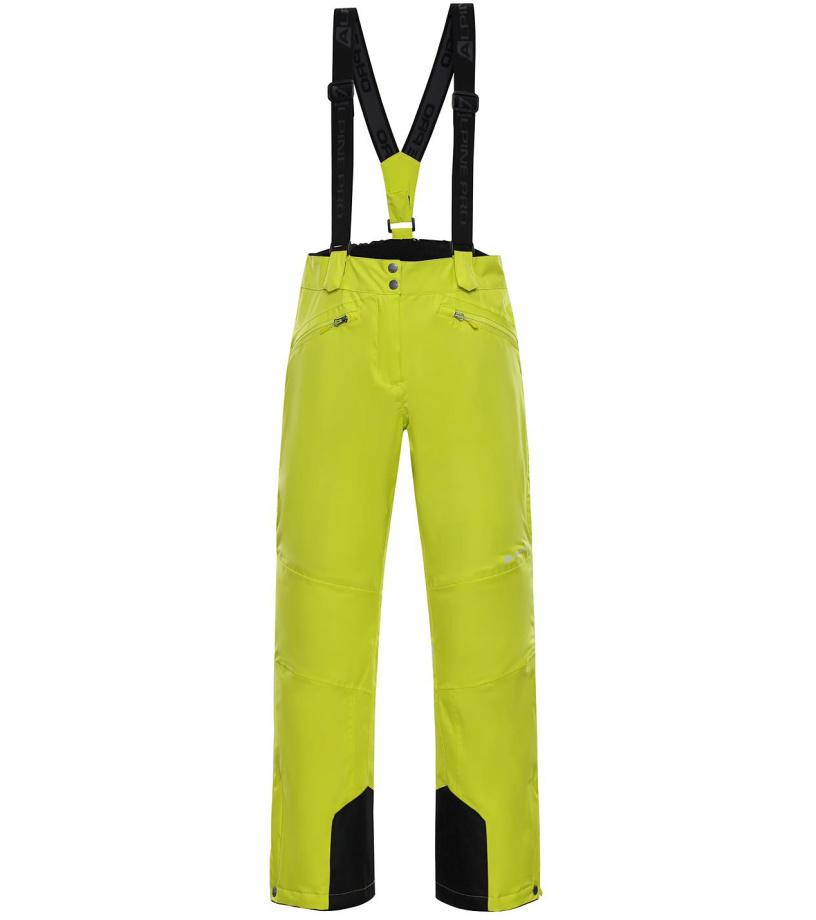 ALPINE PRO MINNIE 4 Dámské lyžařské kalhoty LPAM280564 Sulphur spring