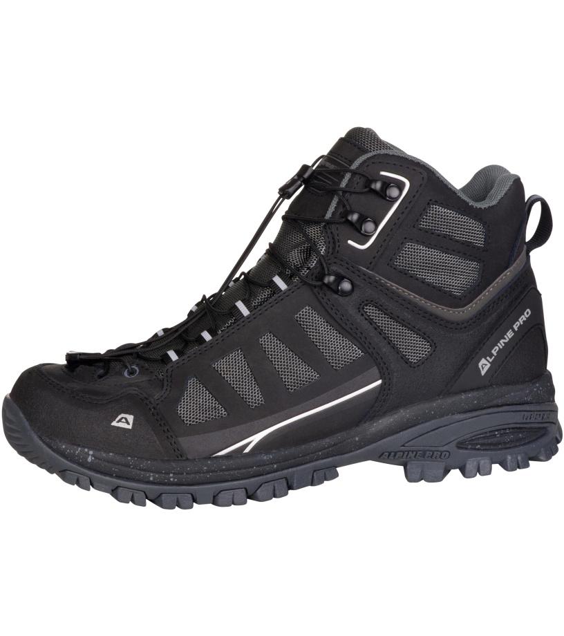 ALPINE PRO LARK Uni outdoorová obuv UBTM172990 černá 44