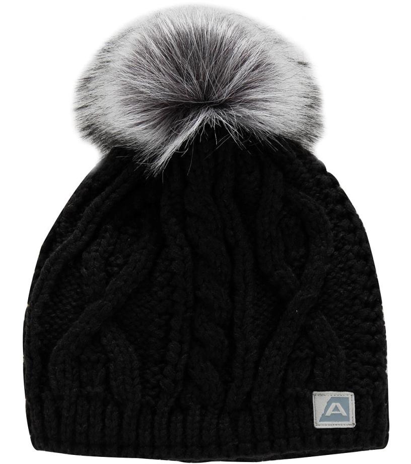 ALPINE PRO GARBINE Zimní čepice UHAM053990 černá