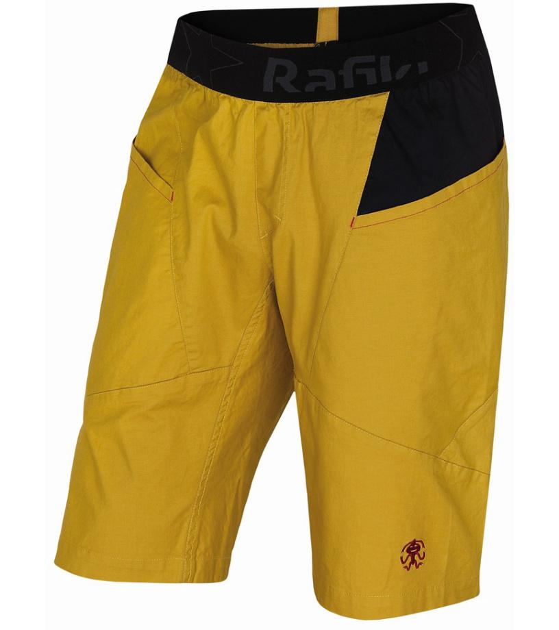 Rafiki MEGOS Pánské lezecké kraťasy 10001205RFX01 Lemon curry S