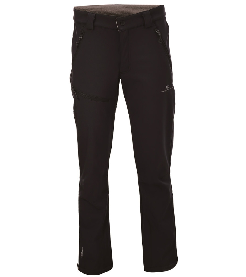 2117 OF SWEDEN Balebo Pánské softshellové kalhoty 7529952010 Black XXXL