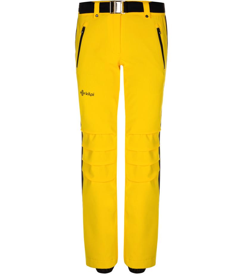 KILPI Dámské lyžařské kalhoty HANZO-W LL0039KIYEL Žlutá 40S