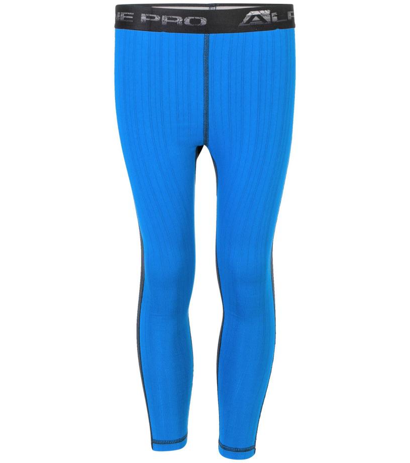 ALPINE PRO SUSYO Dětské spodní kalhoty KUNP014674 Blue aster L