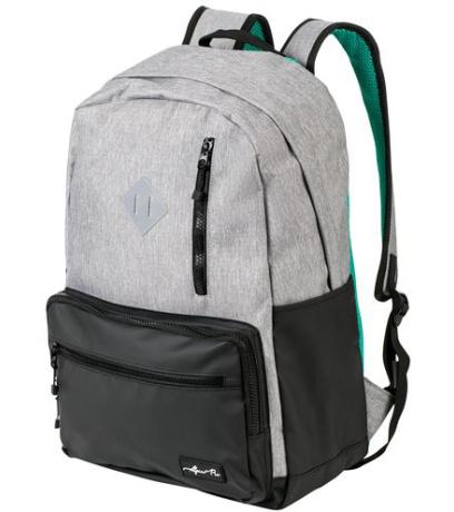 ALPINE PRO MALE Unisex městský batoh 20L UBGP094774 šedá 20L