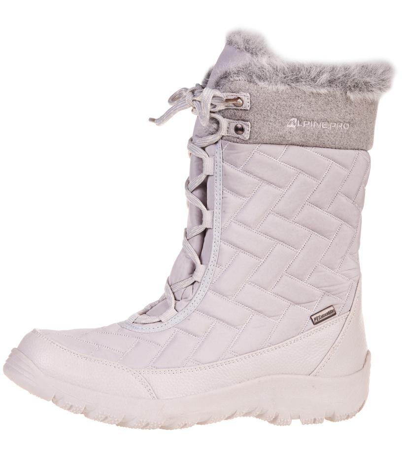 ALPINE PRO BORUTA Dámská zimní obuv LBTF096771 světle šedá 40