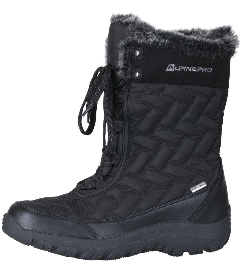 ALPINE PRO BORUTA Dámská zimní obuv LBTF096990 černá 40
