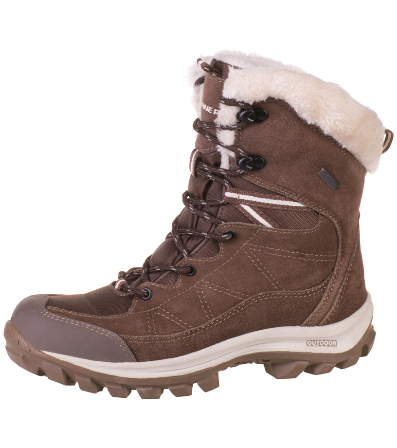 ALPINE PRO WATI Dámská zimní obuv LBTF098909 pryž 40