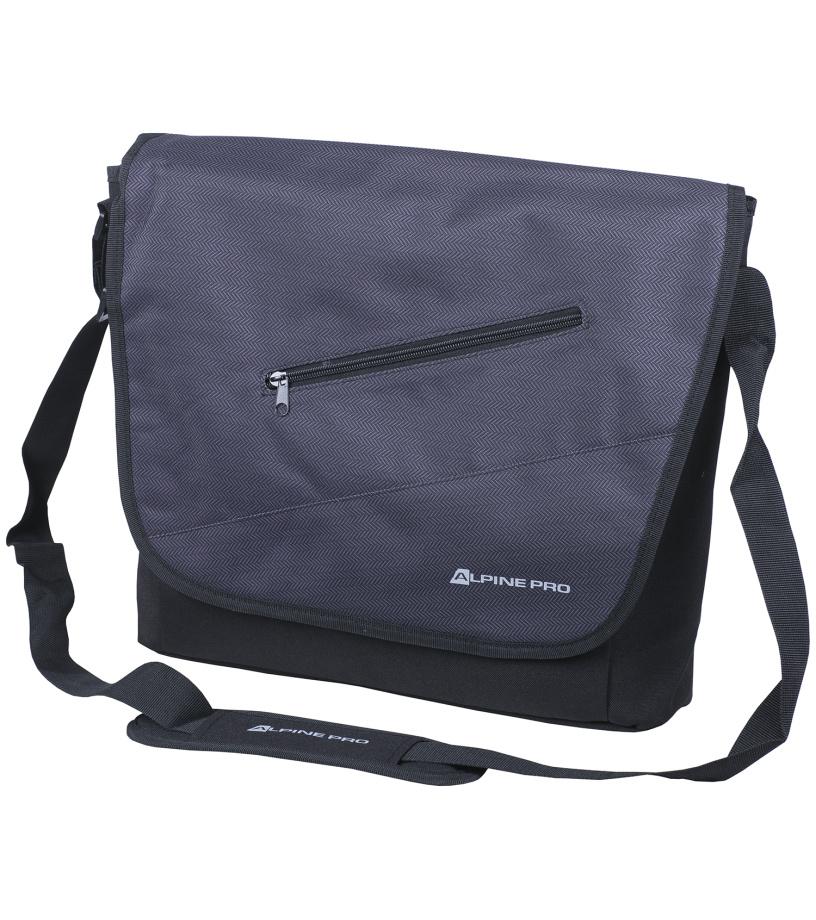 ALPINE PRO DOMEKA Pánská taška MBGF001779 tmavě šedá UNI