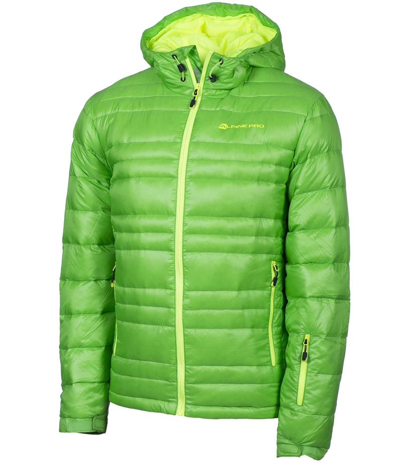 ALPINE PRO ISKUT Pánská bunda MJCF101543 flash green S
