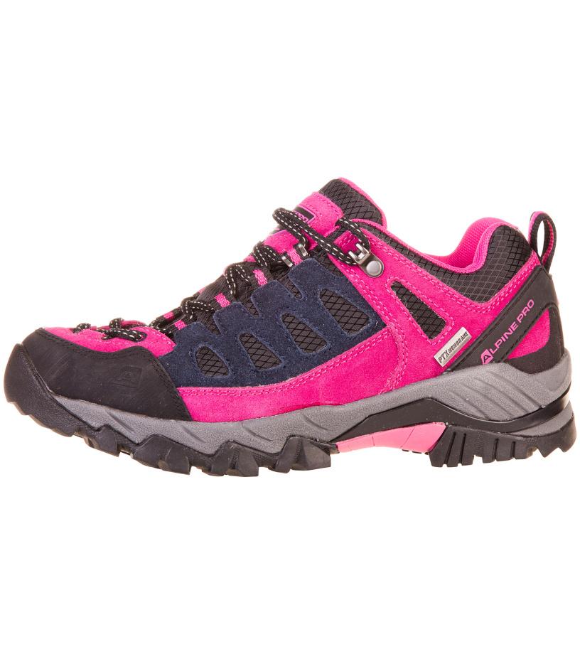 ALPINE PRO KAWA Uni outdoorová obuv UBTF028411 fuchsiová