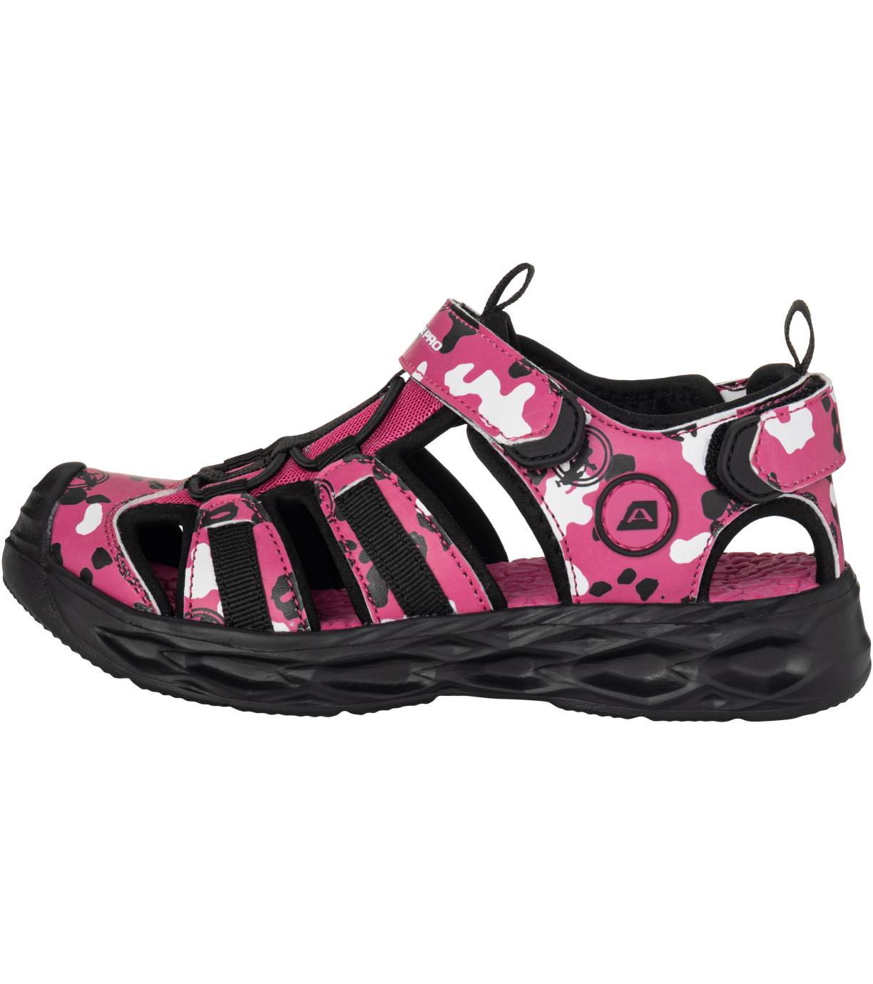 ALPINE PRO AVANO Dětské sandály KBTT278810 růžová 27