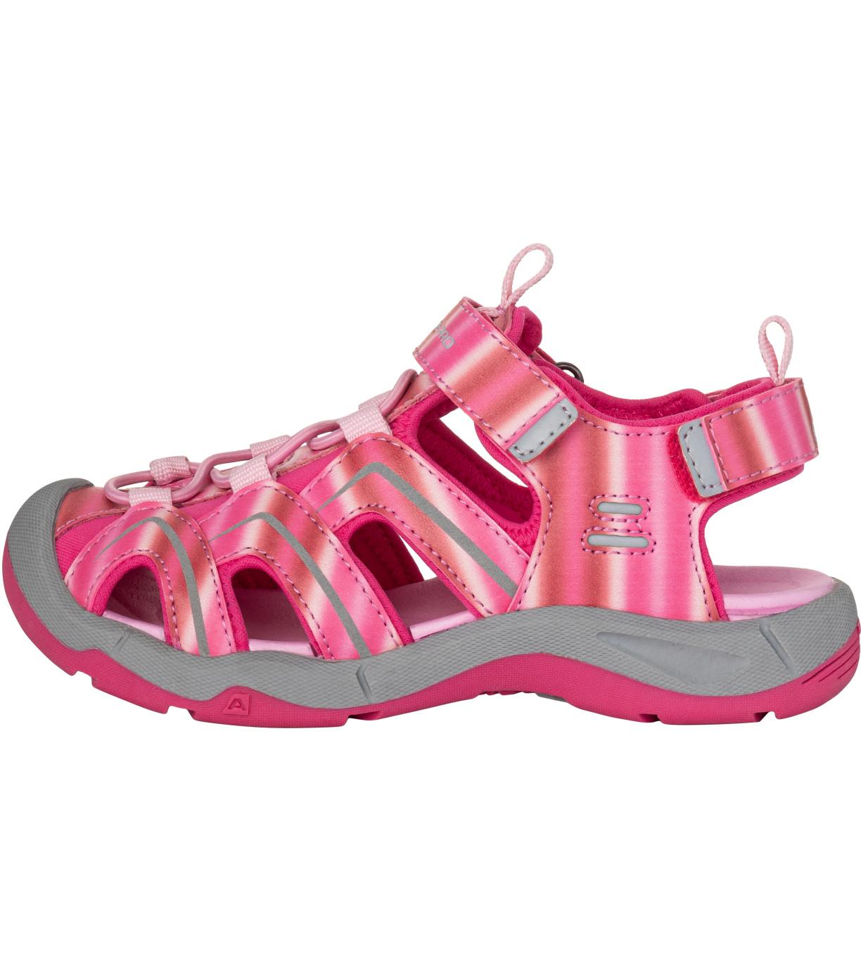 ALPINE PRO ANGUSO Dětské sandály KBTT279810 růžová 34