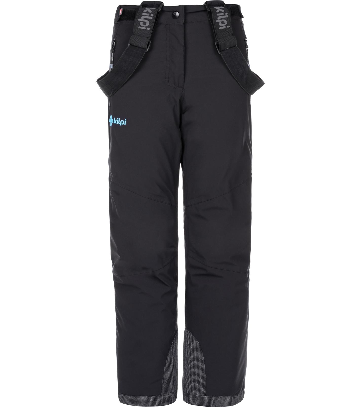 KILPI Dětské lyžařské kalhoty TEAM PANTS-J LJ0077KIBLK Černá 134