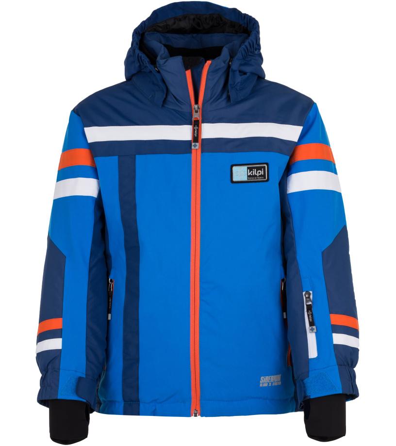 KILPI Chlapecká lyžařská bunda TITAN-JB HJ0002KIBLU Modrá 158