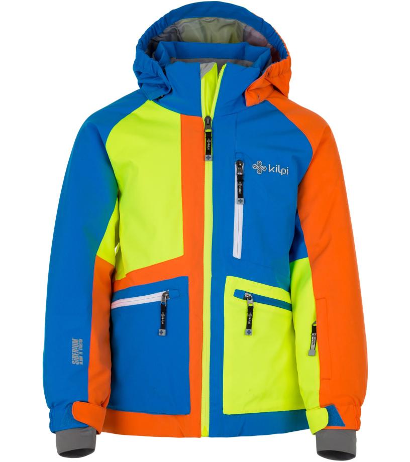 KILPI Chlapecká lyžařská bunda JACKYL-JB HJ0004KIBLU Modrá 158