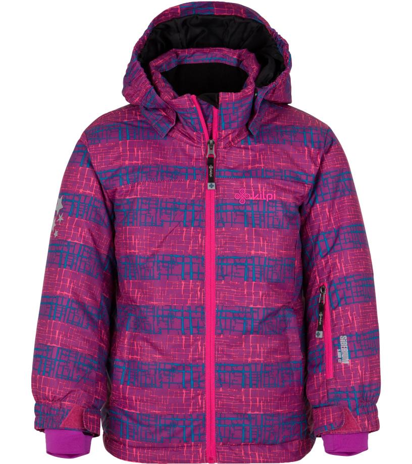KILPI Dívčí lyžařská bunda GENOVESA-JG HJ0016KIVLT Fialová 110