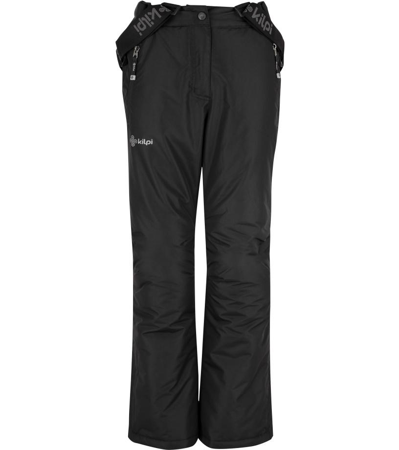 KILPI Dívčí lyžařské kalhoty ELARE-JG HJ0023KIBLK Černá 146