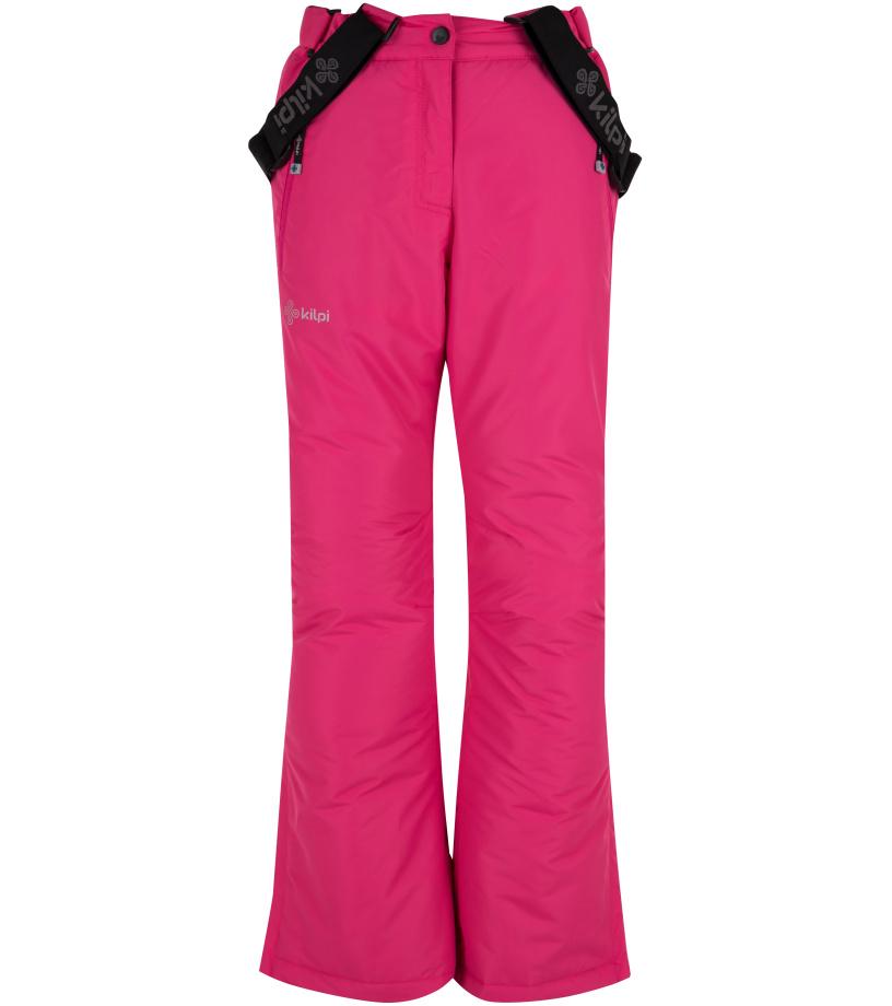 KILPI Dívčí lyžařské kalhoty ELARE-JG HJ0023KIPNK Růžová 146