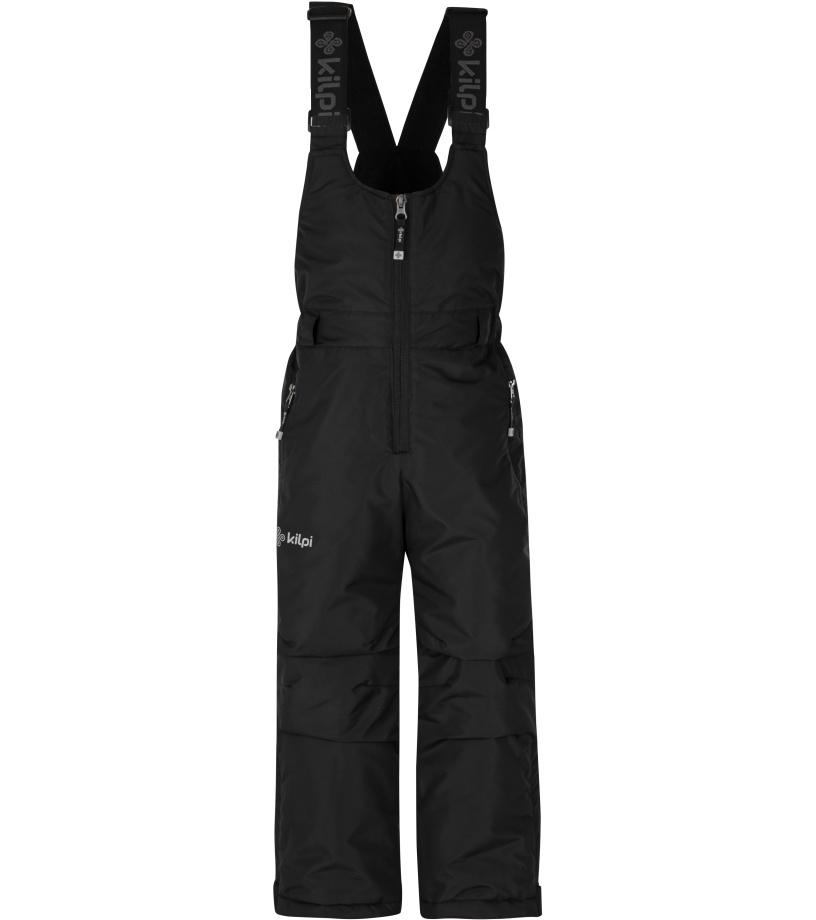 KILPI Dívčí lyžařské kalhoty FUEBO-JG HJ0024KIBLK Černá 98