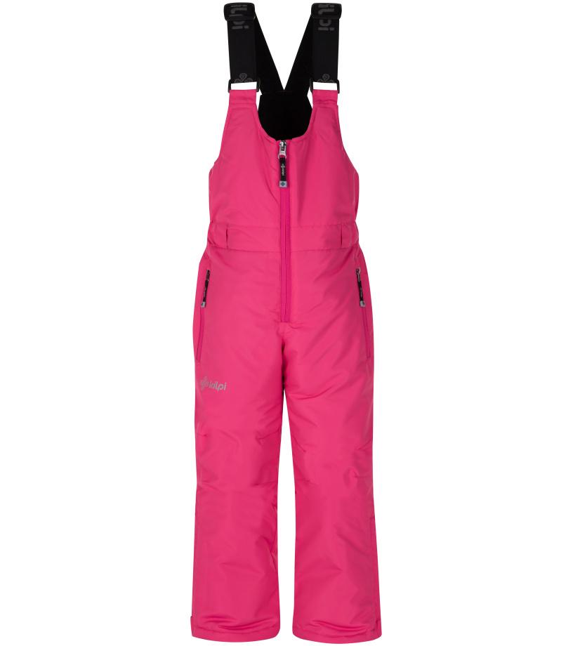 KILPI Dívčí lyžařské kalhoty FUEBO-JG HJ0024KIPNK Růžová 134