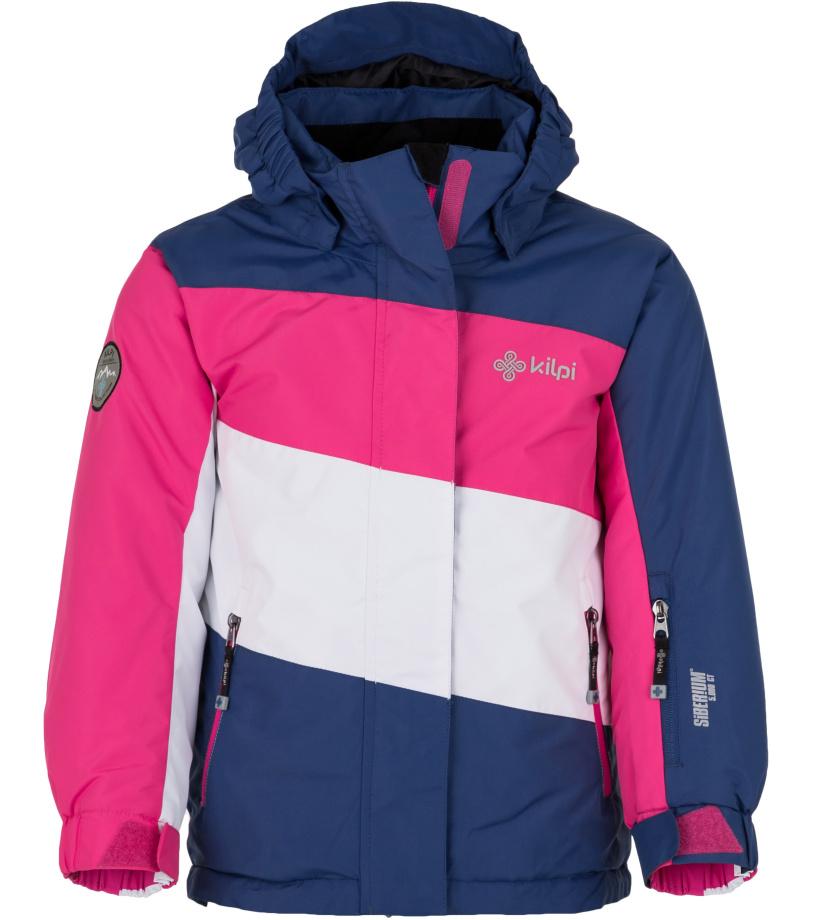 KILPI Dívčí lyžařská bunda KALLY-JG HJ0037KIDBL Tmavě modrá 110