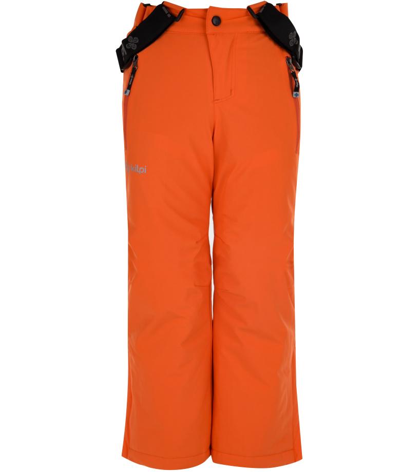 KILPI Chlapecké lyžařské kalhoty METHONE-JB HJ0089KIORN Oranžová 134