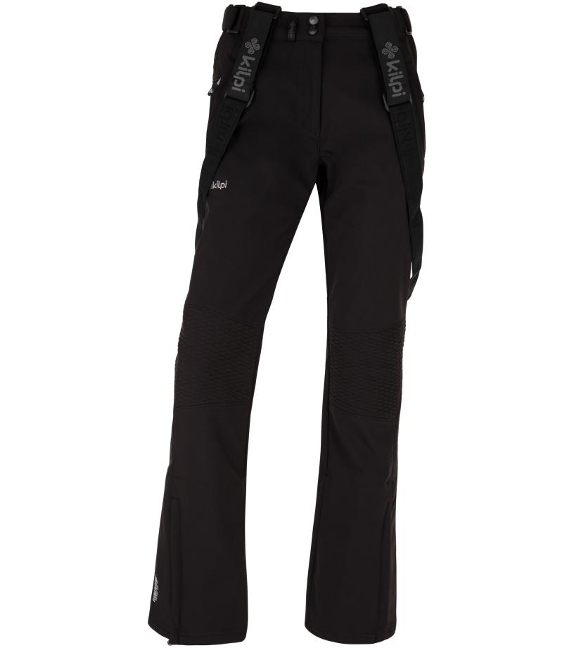 KILPI Dámské softshellové lyžařské kalhoty DIONE-W HL0013KIBLK Černá 34