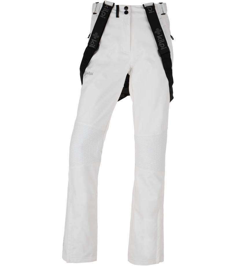 KILPI Dámské softshellové lyžařské kalhoty DIONE-W HL0013KIWHT Bílá 34