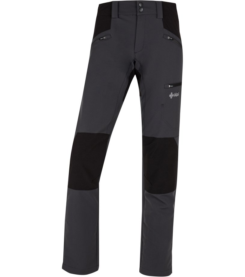 KILPI Dámské outdoorové kalhoty TIDE-W HL0107KIDGY Tmavě šedá