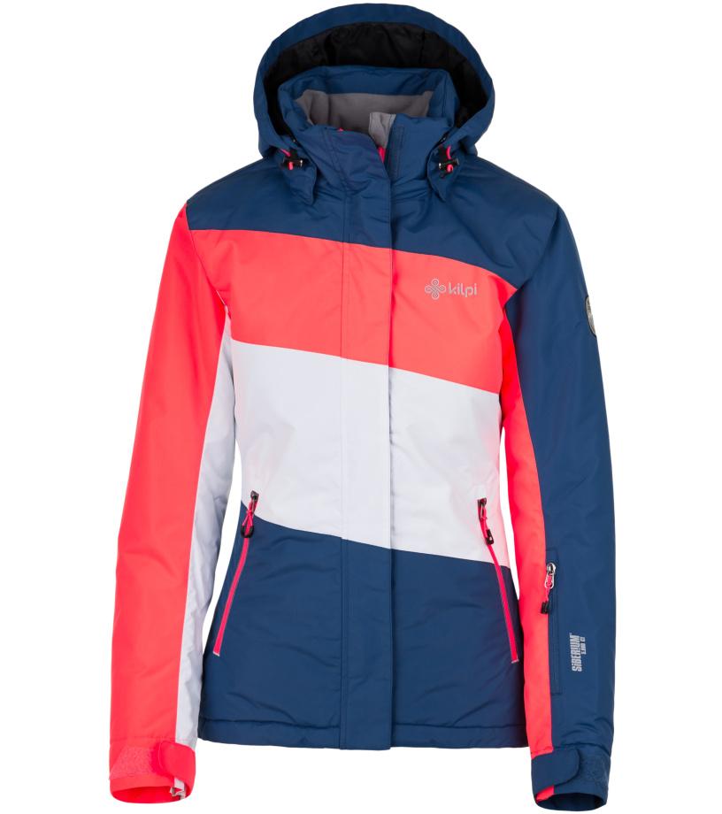 KILPI Dámská lyžařská bunda KALLY-W HL0114KIDBL Tmavě modrá