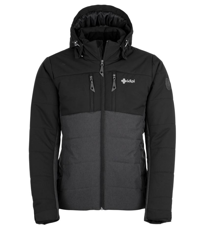 KILPI Pánská zimní bunda TORRES-M HM0055KIDGY Tmavě šedá