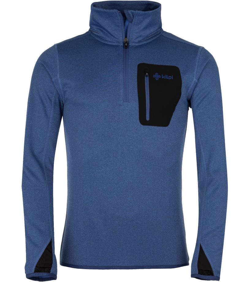 KILPI Pánská strečová mikina ELIJAH-M HM0072KIDBL Tmavě modrá S