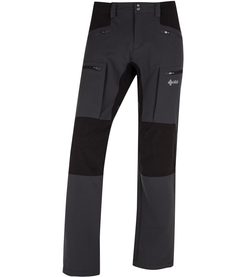 KILPI Pánské outdoorové kalhoty TIDE-M HM0112KIDGY Tmavě šedá