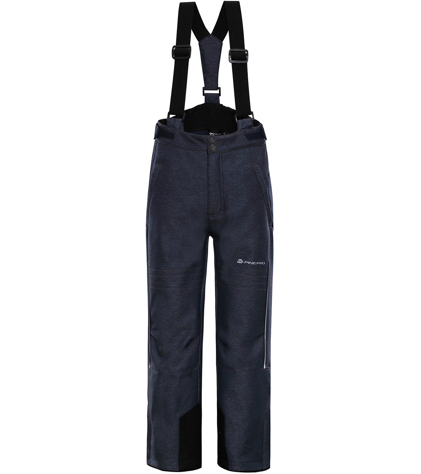ALPINE PRO NEXO 3 Dětské lyžařské kalhoty KPAP175602 mood indigo 128-134