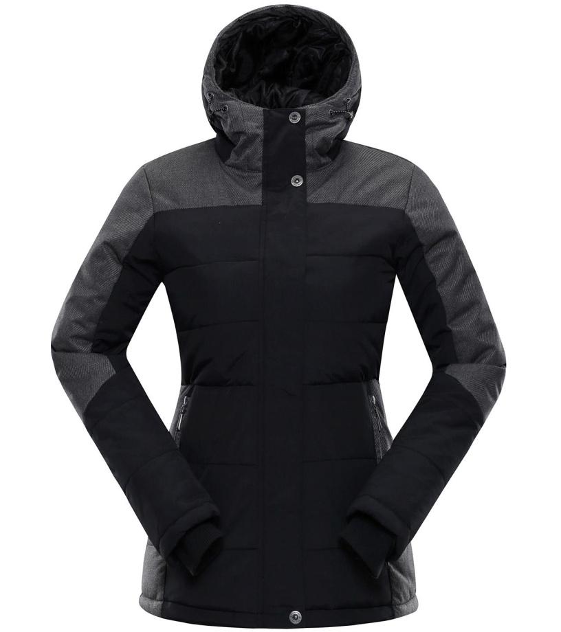 ALPINE PRO GABRIELLA 2 Dámská bunda LJCM258990 černá XS