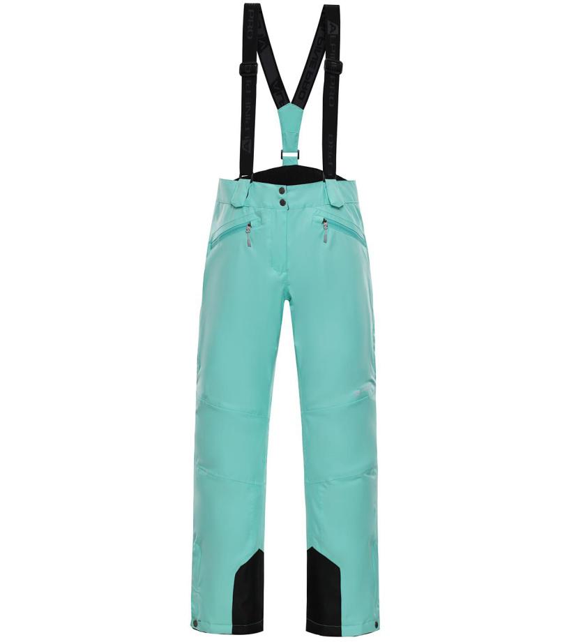 ALPINE PRO MINNIE 4 Dámské lyžařské kalhoty LPAM280547 Cockatoo